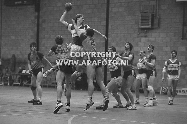 Arnhem, 19860215 - APA FOTO<br />Handbal Hr. Esca-Sparta 75, de Escahal