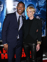 """LOS ANGELES, CA, USA - APRIL 16: Marlon Wayans, Jaime Pressly at the Los Angeles Premiere Of Open Road Films' """"A Haunted House 2"""" held at Regal Cinemas L.A. Live on April 16, 2014 in Los Angeles, California, United States. (Photo by Xavier Collin/Celebrity Monitor)"""