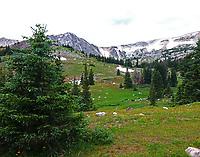 Snowy Range mountains