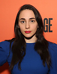 "Lauren Patten attends the After Party for the Second Stage Production of ""Days Of Rage"" at Churrascaria Platforma on October 30, 2018 in New York City."