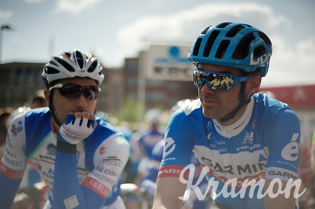 David Millar (GBR/Garmin-Sharp) at the start<br /> <br /> 102nd Scheldeprijs 2014