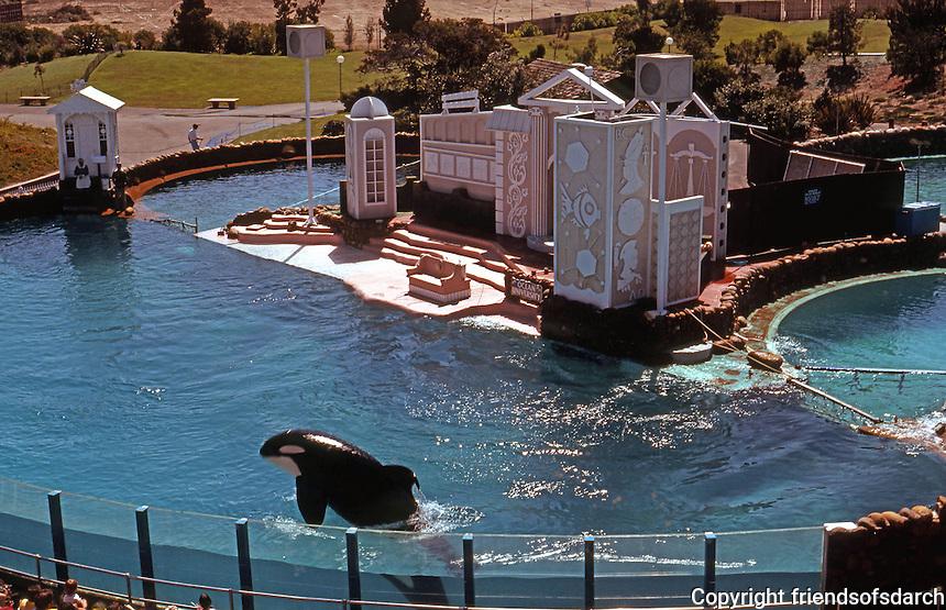 San Diego: Sea World.  (Photo 1978)