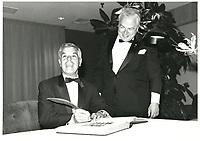 Guy Descarie<br /> , Soiree-  du Club des Ambassadeurs<br /> (du Palais des Congres de Montreal), 18 septembre 1985<br /> <br /> Photo : Agence Quebec Presse