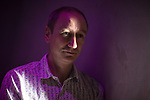 © Joel Goodman - 07973 332324. 22/08/2017 . Manchester , UK . Former undercover drug policeman NEIL WOODS speaks at an event at Texture , a club in Manchester's Northern Quarter , about his experiences infiltrating drugs gangs , which have lead him to go public and campaign for drug law reform in his new role as Chairman of LEAP UK ( Law Enforcement Against Prohibition ) . Photo credit : Joel Goodman