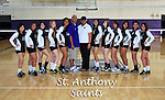 St. Anthony High School Volleyball team photo.