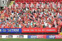Cardboard cutouts of Charlton fans on display in the stand during Charlton Athletic vs Reading, Sky Bet EFL Championship Football at The Valley on 11th July 2020