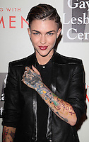 """BEVERLY HILLS, CA, USA - MAY 10: Ruby Rose at the """"An Evening With Women"""" 2014 Benefiting L.A. Gay & Lesbian Center held at the Beverly Hilton Hotel on May 10, 2014 in Beverly Hills, California, United States. (Photo by Celebrity Monitor)"""