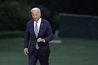 OCT 05 Joe Biden returns from Michigan - Washington