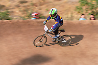 BMX bicycle racing at Elings Park Santa Barbara Californi