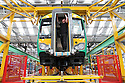 File photo showing trains being made at Bombardier's Derby factory.<br />