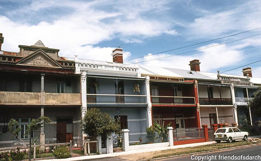 Perth: Baker's Terrace, 1897. Lake St., improved. Photo '82.