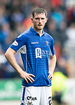 St Johnstone v Rangers…22.09.19   McDiarmid Park   SPFL<br />Anthony Ralston<br />Picture by Graeme Hart.<br />Copyright Perthshire Picture Agency<br />Tel: 01738 623350  Mobile: 07990 594431