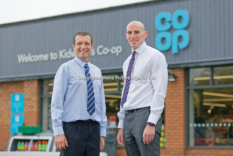 L-R Store manager Anthony Thorne and area manager Ed Howe