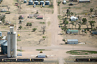 Western Kansas farm town (unknown). May 2014. 83917