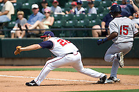 Gall, John 1056 (Andrew Woolley).jpg. Pacific Coast League Oklahoma City RedHawks against the Round Rock Express at Dell Diamond on May 10th 2009 in Round Rock, Texas. Photo by Andrew Woolley.