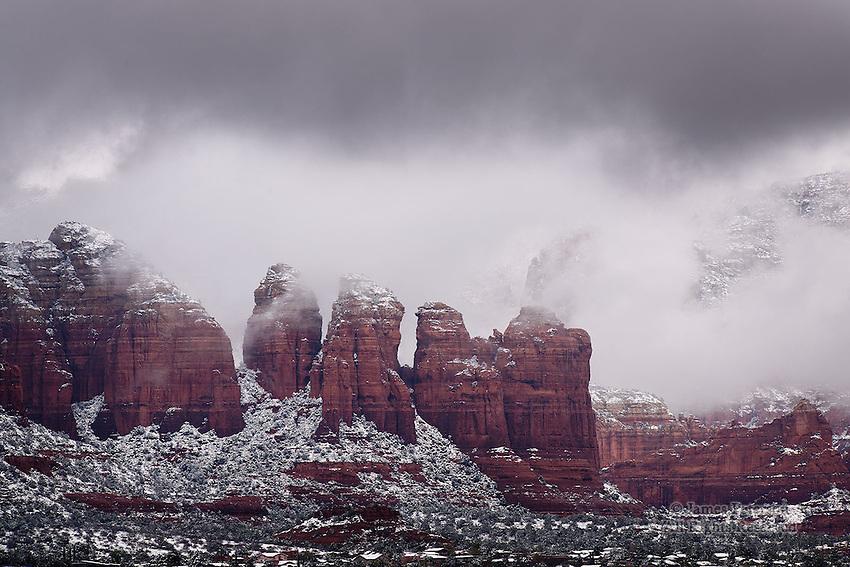 Storm Light: Winter #1, Sedona, Arizona