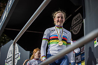 Zoe Backstedt (GBR)<br /> <br /> Women Junior – Road Race (WC)<br /> Race from Leuven to Leuven (75km)<br /> <br /> UCI Road World Championships – Flanders Belgium 2021<br /> <br /> ©kramon