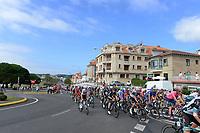 4th September 2021; Sanxenxo to Castro De Herville De Mos, Pontevedra, Spain; stage 20 of Vuelta a Espanya cycling tour; Peleton in De Herville De Mos