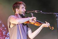 Howen Palett performs at the Festival d'ete de Quebec (Quebec City Summer Festival) Monday July 13, 2015.