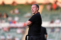 Steve Cooper Head Coach of Swansea City during the Pre season friendly match between Plymouth Argyle and Swansea City at Home Park in Plymouth, England, UK. Tuesday 20 July 2021