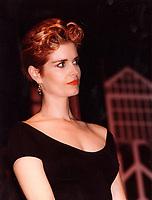 1992 file photo - Veronique Beliveau at salon de la femme 1992