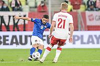 11th October 2020, The Stadion Energa Gdansk, Gdansk, Poland; UEFA Nations League football, Poland versus Italy; ALESSANDRO FLORENZI crosses wide