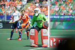 The Hague, Netherlands, June 13: aGeorge Pinner #1 of England looks on during the field hockey semi-final match (Men) between The Netherlands and England on June 13, 2014 during the World Cup 2014 at Kyocera Stadium in The Hague, Netherlands. Final score 1-0 (1-0)  (Photo by Dirk Markgraf / www.265-images.com) *** Local caption ***