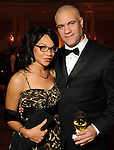 Meera and Mat Johnson at the Imprint Poets & Writers Ball at the Houston Country Club  Feb 18,2012. (Dave Rossman/For the Chronicle)