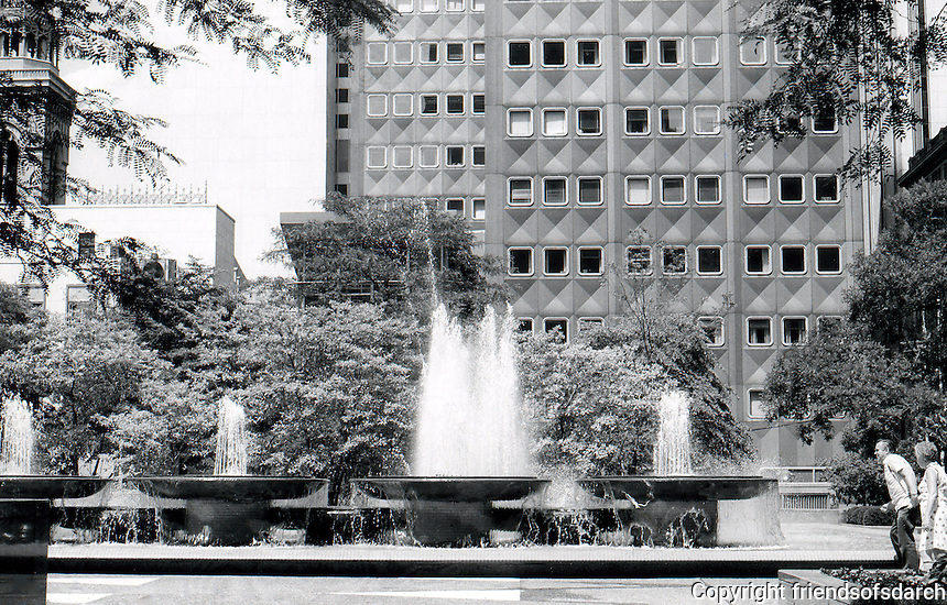 Pittsburgh:  Mellon Square, 1976.