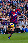 Sergi Roberto Carnicer, S Roberto, of FC Barcelona in action during the La Liga 2018-19 match between FC Barcelona and Real Betis at Camp Nou, on November 11 2018 in Barcelona, Spain. Photo by Vicens Gimenez / Power Sport Images