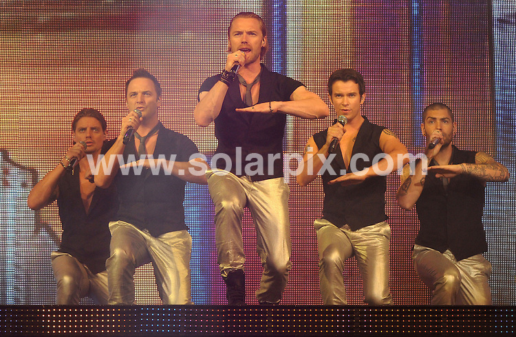 **ALL ROUND PICTURES FROM SOLARPIX.COM**.**WORLDWIDE SYNDICATION RIGHTS**.Boyzone perform live at the Wembley Arena, London, UK. 1st June 2008...This pic: Boyzone..JOB REF: 6541 SSD     DATE: 01_06_2008.**MUST CREDIT SOLARPIX.COM OR DOUBLE FEE WILL BE CHARGED* *UNDER NO CIRCUMSTANCES IS THIS IMAGE TO BE REPRODUCED FOR ANY ONLINE EDITION WITHOUT PRIOR PERMISSION*