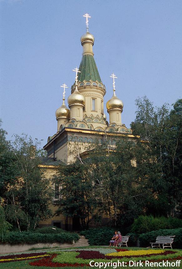 Bulgarien, Sofia, Sveti Nikolai