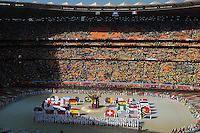 SOCCER/FUTBOL..WORLD CUP 2010..FASTUOSA FIESTA..Photo of the opening ceremony of the World Cup 2010 South Africa at the Soccer City stadium of Johannesburg, South Africa./Foto de la ceremonia de apertura de la Copa del Mundo Sudafrica 2010 en el Soccer City stadium de Johannesburgo, Sudafrica. 11 June 2010 MEXSPORT/OMAR MARTINEZ