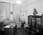 Pittsburgh PA:  A view of an English Professor's office at Duquesne University.<br />