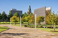 Oklahoma City, Oklahoma, USA.  National Terrorism Memorial.