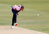 Tom Helm bowls for Middlesex during Kent Spitfires vs Middlesex, Vitality Blast T20 Cricket at The Spitfire Ground on 16th September 2020