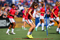 San Diego, CA - Sunday July 30, 2017: Kelley O'Hara during a 2017 Tournament of Nations match between the women's national teams of the United States (USA) and Brazil (BRA) at Qualcomm Stadium.