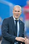 Manager Zinedine Zidane of Real Madrid during the La Liga 2017-18 match between Getafe CF and Real Madrid at Coliseum Alfonso Perez on 14 October 2017 in Getafe, Spain. Photo by Diego Gonzalez / Power Sport Images