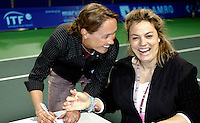 19-11-06,Amsterdam, Tennis, Wheelchair Masters, contract between Johan Cruijf foundation and ITF