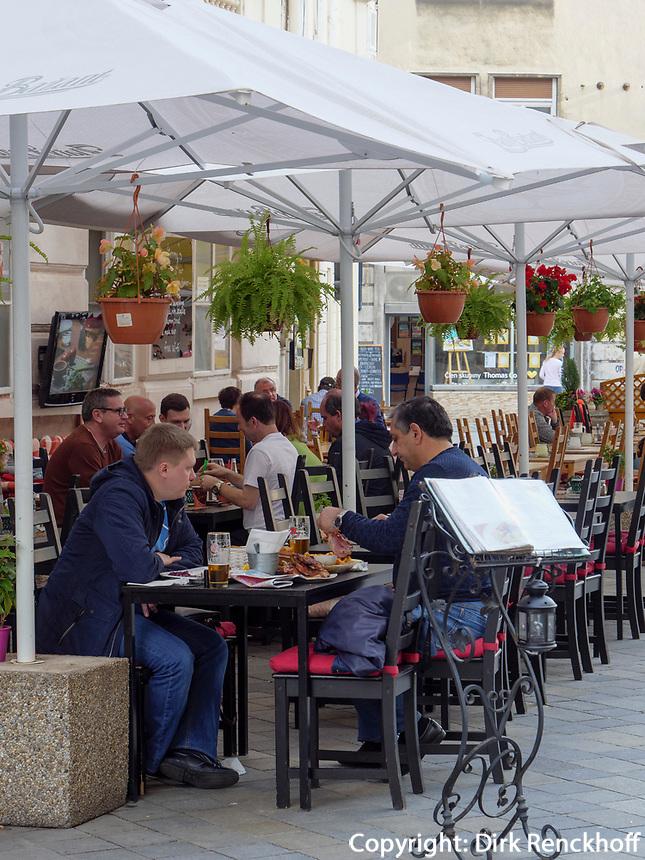 Restaurant in der Panska, Bratislava, Bratislavsky kraj, Slowakei, Europa<br /> Restaurant in Panska St., Bratislava, Bratislavsky kraj, Slovakia, Europe
