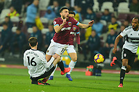 Robert Snodgrass of West Ham United is fouled during West Ham United vs Fulham, Premier League Football at The London Stadium on 22nd February 2019