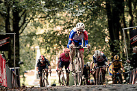 Stefan Küng (SUI/Groupama-FDJ) up the Kemmelberg<br /> <br /> 82nd Gent-Wevelgem in Flanders Fields 2020 (1.UWT)<br /> 1 day race from Ieper to Wevelgem (232km)<br /> <br /> ©kramon