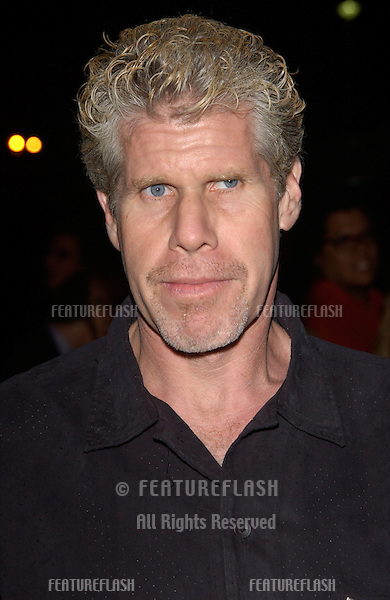 Actor RON PERLMAN at the world premiere of Abandon, at Paramount Studios, Hollywood..14OCT2002.  © Paul Smith / Featureflash
