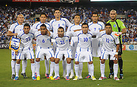 El Salvador starting elven.  Jamaica defeated El Salvador 2-0 in a international friendly match at RFK Stadium, Wednesday August 15, 2012.