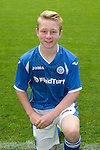 St Johnstone FC Academy Under 15's<br /> David McCrorie<br /> Picture by Graeme Hart.<br /> Copyright Perthshire Picture Agency<br /> Tel: 01738 623350  Mobile: 07990 594431