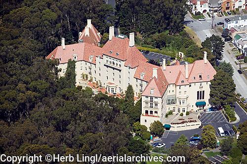 aerial photograph of Arden Wood residential care facility, San Francisco, California