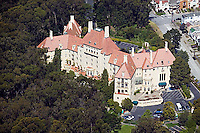 aerial photograph of Arden Wood residential care facility, San Francisco, California