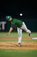 Daytona Tortugas relief pitcher Carlos Diaz (14) during a Florida State League game against the Palm Beach Cardinals on April 11, 2019 at Roger Dean Stadium in Jupiter, Florida.  Palm Beach defeated Daytona 6-0.  (Mike Janes/Four Seam Images)