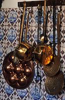 Europe/Belgique/Flandre/Province d'Anvers/Anvers : La cuisine de la Maison de Rubens