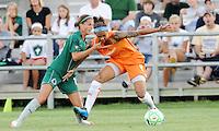 Natasha Kai #6 , Angie Woznuk..Saint Louis Athletica defeated Sky Blue F.C 1-0, at Anheuser-Busch Soccer Park, Fenton, MO.